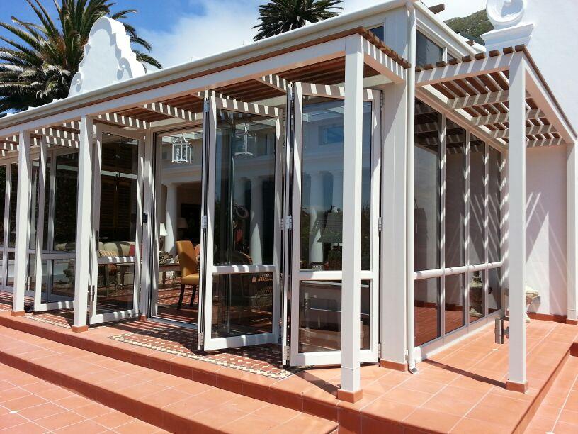 aluminium stackfold doors