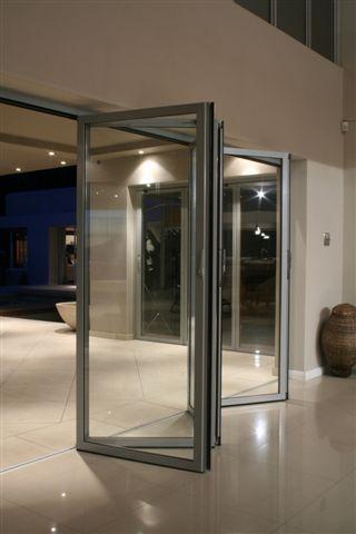 Eurostyle Aluminium framed stackfold doors