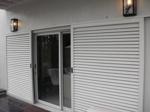 eurostyle sliding door with sliding shutter copy